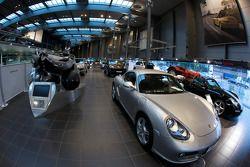 Porsche dealership on Porscheplatz