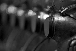 1912 6-cylinder Flugmotor detail
