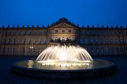 Stuttgart by night: das Neue Schloss (the New Castle)