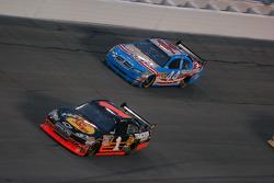 Martin Truex Jr., Earnhardt Ganassi Racing Chevrolet and A.J. Allmendinger, Richard Petty Motorsports Dodge