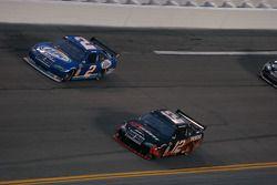 Kurt Busch, Penske Racing Dodge et David Stremme, Penske Racing Dodge