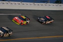 Jeff Gordon, Hendrick Motorsports Chevrolet et Brad Keselowski, Phoenix Racing Chevrolet