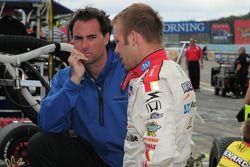 Bryan Herta conseille Ed Carpenter, Vision Racing