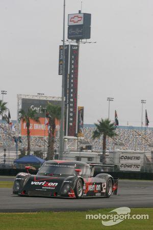 La Porsche Riley N°12 : Timo Bernhard, Romain Dumas