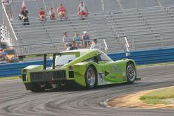 #75 Krohn Racing Ford Lola: Tracy Krohn, Eric van de Poele