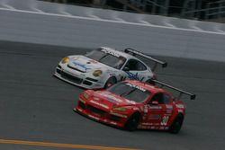 Racers Edge Motorsports Mazda RX-8 : Dane Cameron, Tom Sutherland; Farnbacher Loles Racing Porsche