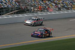 #65 TRG Porsche GT3: John Potter, Craig Stanton et #40 Dempsey Racing Mazda RX-8: Patrick Dempsey, J