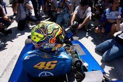 Мероприятие Go-kart: Валентино Росси, Fiat Yamaha Team