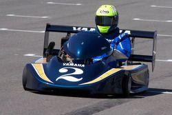 Evento promocional de Go-kart: Kenny Roberts