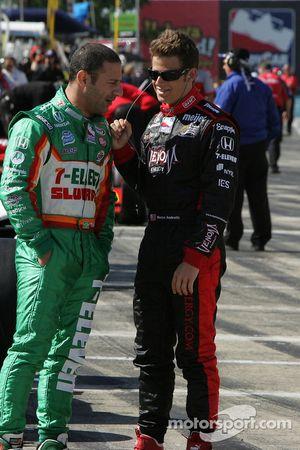 Tony Kanaan, Andretti Green Racing et Marco Andretti, Andretti Green Racing