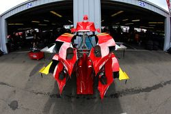 Parts of the Grahama Rahal's Newman/Hass/Lonigan car