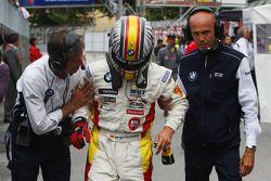 Sergio Hernandez, BMW Team Italy-Spain, BMW 320si and Roberto Ravaglia, Team Manager, BMW Team Italy