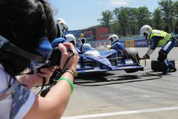 Mike Conway, Dreyer & Reinbold Racing font un pit stop