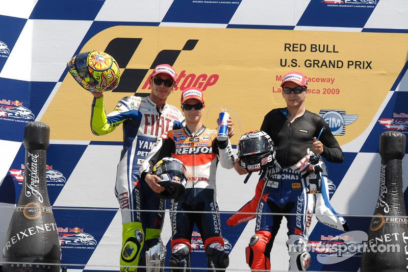 2009 : deux fois plus de podiums