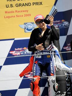 Podium: third place Jorge Lorenzo, Fiat Yamaha Team