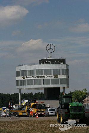 Mercedes building