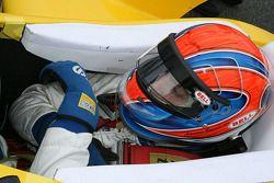 Adriano Buzaid before the start