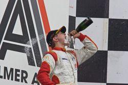 Race winner Richard Plant
