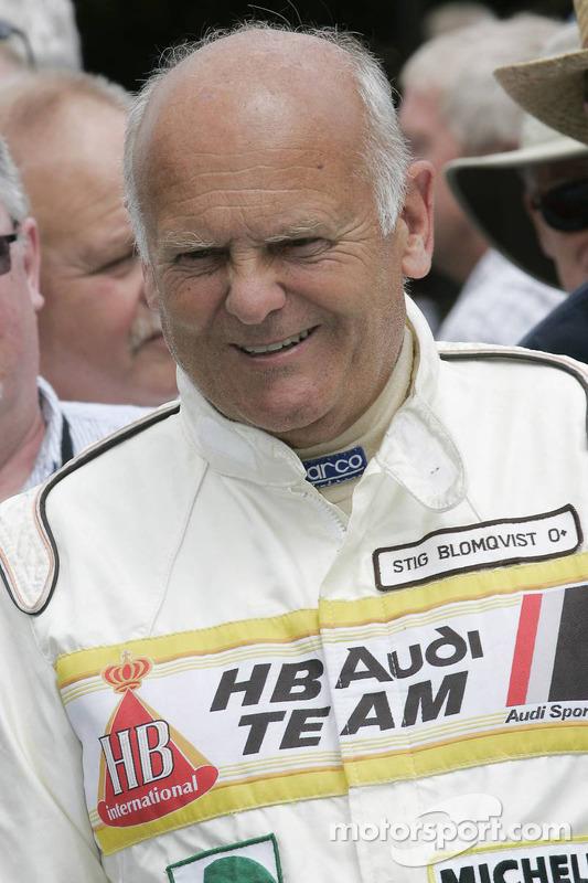 Stig Blomqvist, Audi 100 year ...