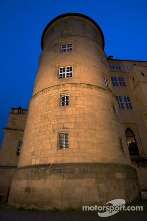Stuttgart by night: Altes Schloss (Old Castle)