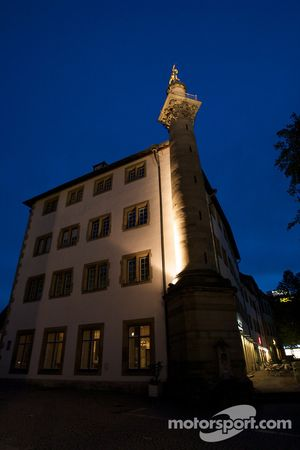 Stuttgart by night: Hotel am Schlossgarten