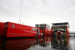 Scuderia Ferrari motorhome