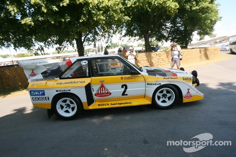 Audi Sport Quattro S1 1985 At Goodwood Festival Of Speed Vintage