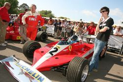 Nick and Annette Mason, Ferrari 312T3 1978