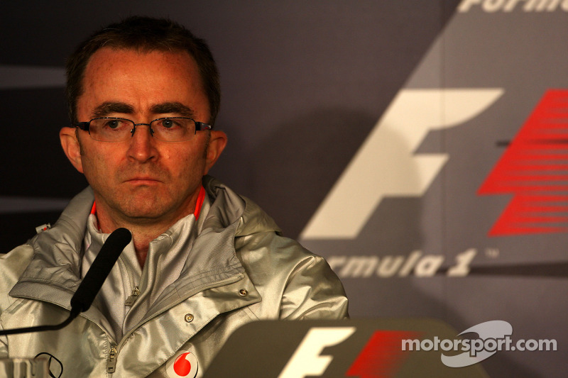 FIA press conference: Paddy Lowe McLaren Engineering Director