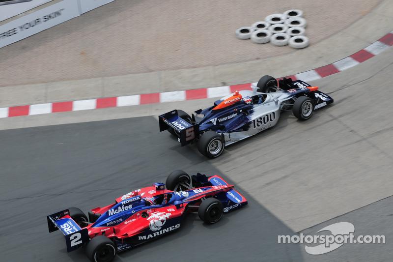 Mario Moraes, KV Racing Technology passes Raphael Matos, Luczo Dragon Racing