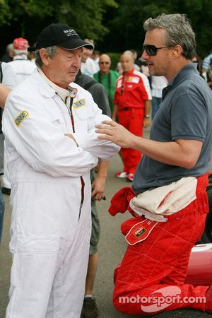 Nick Mason, Eddie Irvine