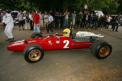 Jean-François Decaux, Ferrari 312/68 1968