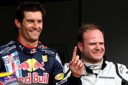 Mark Webber, Red Bull Racing, Rubens Barrichello, Brawn GP