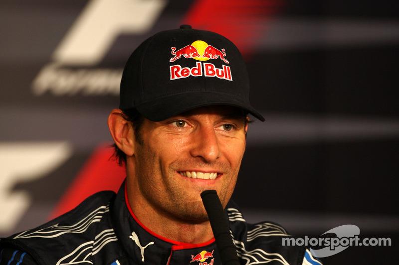 …но еще быстрее проехал Уэббер. Поул стал для австралийца первым в карьере – чтобы завоевать его, Марку потребовалось 130 Гран При