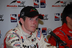 Press conference: second place J.R. Hildebrand