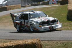 Walter Rohrl, Audi Sport Quattro S1 'Pikes Peak' 1987