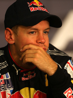FIA press conference: second place Sebastian Vettel