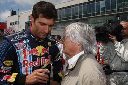 Марк Уэббер, Red Bull Racing, и Берни Экклстоун