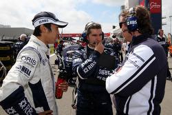 Kazuki Nakajima, Williams F1 Team, Sam Michael, Williams F1 Team, Technical director