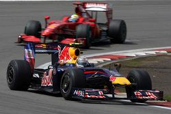 Себастьян Феттель, Red Bull Racing, Фелипе Масса, Scuderia Ferrari