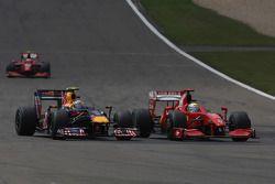 Sebastian Vettel, Red Bull Racing contra Felipe Massa, Ferrari Scuderia