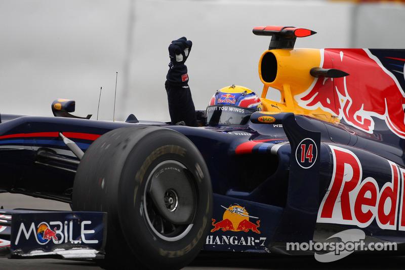 1. Марк Уэббер, Гран При Германии 2009 (130-я гонка)
