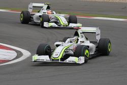 Jenson Button, Brawn GP, Rubens Barrichello, Brawn GP