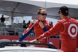 Robert Doornbos, Newman/Haas/Lanigan Racing, Scott Dixon, Target Chip Ganassi Racing