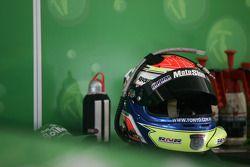 Tony D'Alberto's helmet
