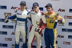 National class podium: winner Daniel Mckenzie, second place Gabrial Dias, third place Victor Correa