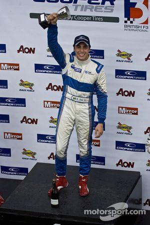 National class podium: winner Gabrial Dias