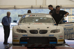 #90 BMW Rahal Letterman Racing Team BMW E92 M3 at technical inspection