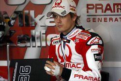 Mika Kallio, Pramac Racing with a damaged finger?