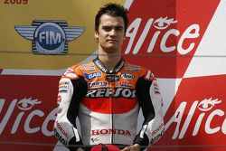 Podio: tercero Dani Pedrosa Repsol Honda Team